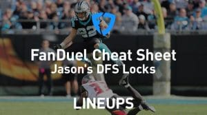 FanDuel NFL Week 1 Cheat Sheet: Daily Fantasy Rankings, Projections, Stacks (Free Download)