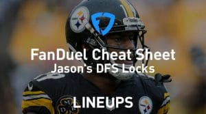 FanDuel NFL Wild Card Cheat Sheet: Daily Fantasy Rankings, Projections, Stacks (Download Free)