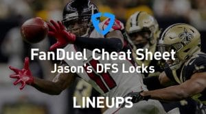 FanDuel NFL Week 3 Cheat Sheet: Daily Fantasy Rankings, Projections, Stacks (Free Download)