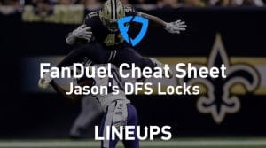 FanDuel NFL Week 11 Cheat Sheet: Daily Fantasy Rankings, Projections, Stacks (Download Free)