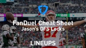 FanDuel NFL Week 15 Cheat Sheet: Daily Fantasy Rankings, Projections, Stacks (Download Free)