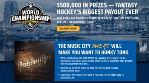 DraftKings Hockey World Championship 2020