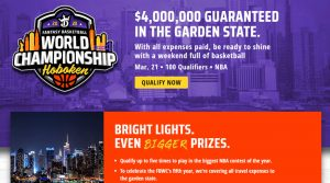 DraftKings Fantasy Basketball World Championship 2020