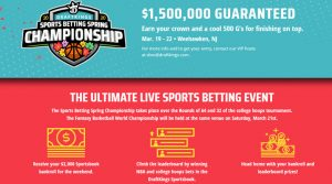 DraftKings Sports Betting Spring Championship 2020