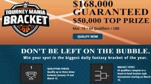 DraftKings Tourney Mania Brackets 2020 – College Basketball Bracket Tournament
