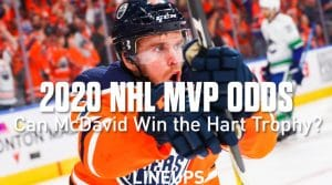 NHL MVP Hart Trophy Odds 2020: Can Connor McDavid Win the Honors?
