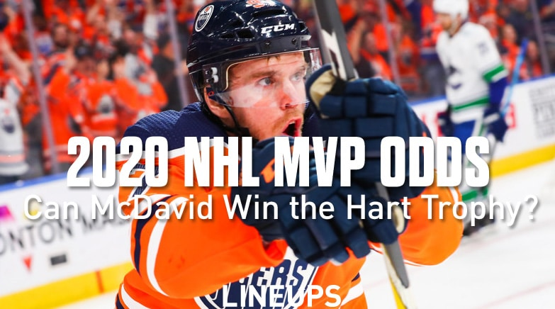 2020 nhl mvp hart trophy odds