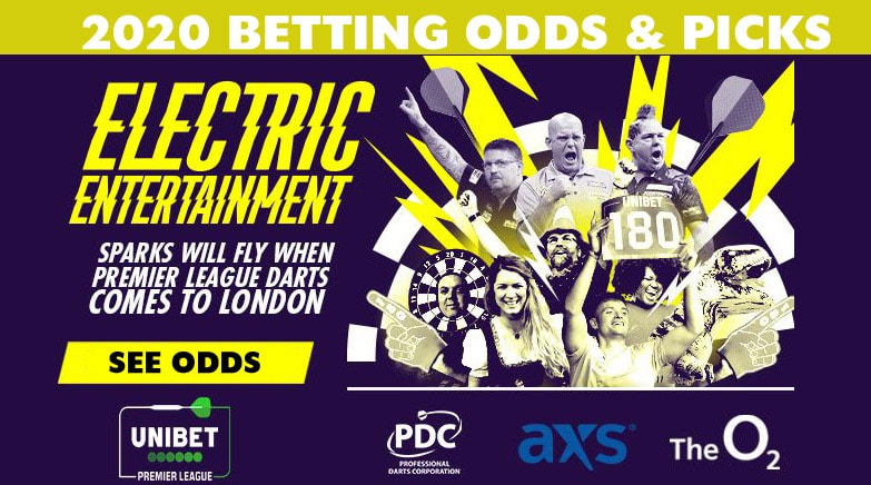 2020 premier league darts odds