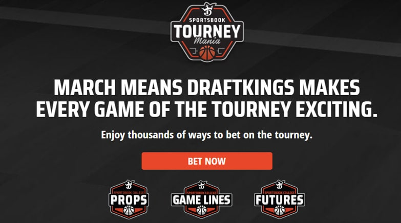 DraftKings Sportsbook Tourney Mania