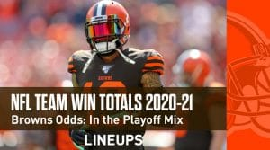 NFL Team Win Total Odds 2020-21