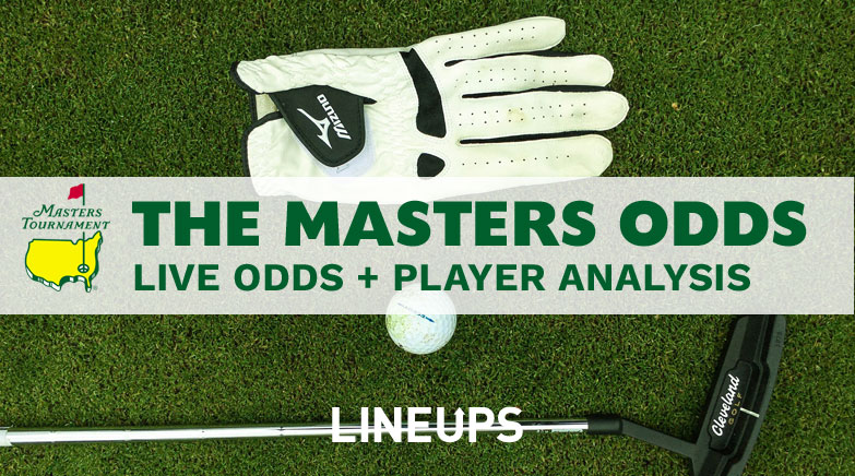 the masters odds 2020