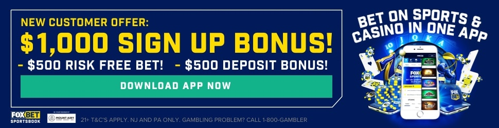 Fox bet bonus