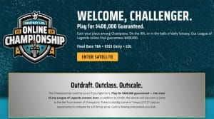 DraftKings League of Legends Championship