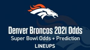 Denver Broncos Super Bowl Odds 2021