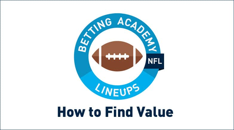 how to find value betting nfl