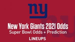 New York Giants Super Bowl Odds 2021