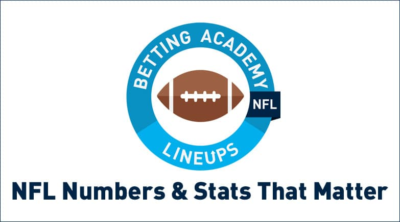 nfl numbers stats that matter in betting