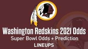 Washington Redskins Super Bowl Odds 2021