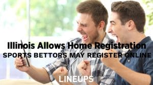 Illinois Governor Allows Sports Bettors to Register at Home