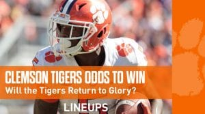 Clemson Tigers Odds to Win 2021 National Championship