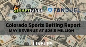 Colorado Sports Betting May Revenue Report: Will Only Go Up From Here