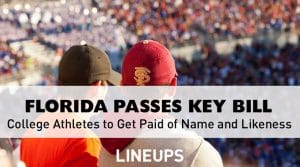 Florida Passes Bill to Allow College Athletes to Get Paid off Name and Likeness