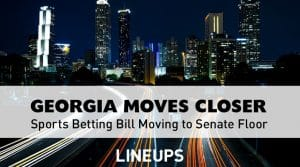 Georgia Sports Betting Bill Heads to Senate Floor