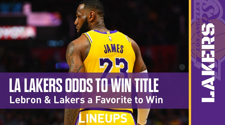 Los Angeles Lakers Nba Championship Odds 2020