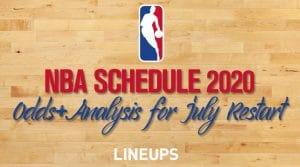 NBA Releases Schedule and Odds for July 30 Restart