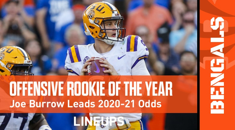offensive rookie of year odds