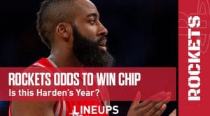 Houston Rockets Championship Odds 2020