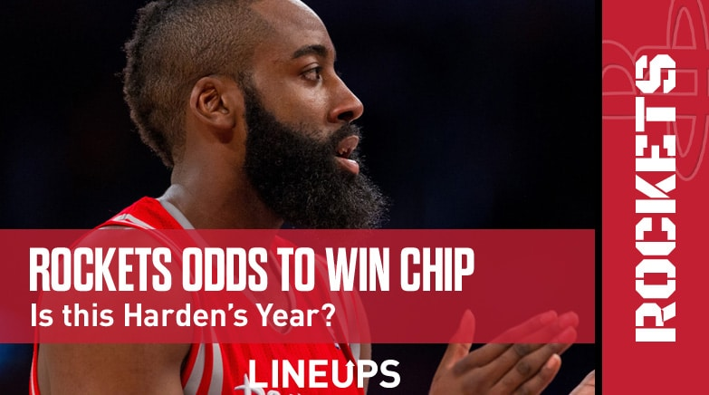 rockets odds to win championship