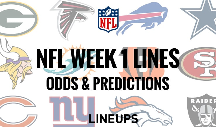 NFL Week 1 Lines & Predictions