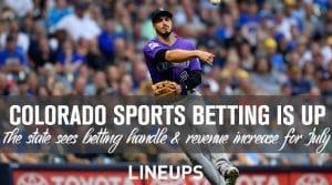 Colorado Sports Betting Grows in July