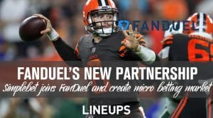 Simplebet Partners with FanDuel for the NFL Season