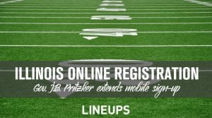 Illinois Extends Online Sports Betting Registration