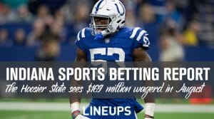 Indiana Sports Betting Handle Impresses for August