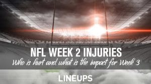How Early Season NFL Injuries Will Impact Betting Odds