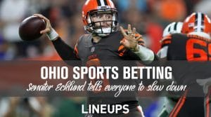 Ohio Sports Betting Excitement Slows After Senator's Comments