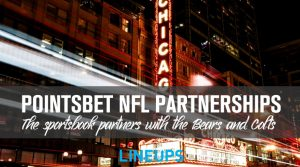 PointsBet Partners with the Chicago Bears and Indianapolis Colts