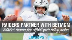 Las Vegas Raiders Partner with BetMGM