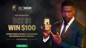 MGM Sportsbook New Jersey Promo Week 3:  Bet Jaguars or Dolphins Moneyline with BetMGM and Win $100