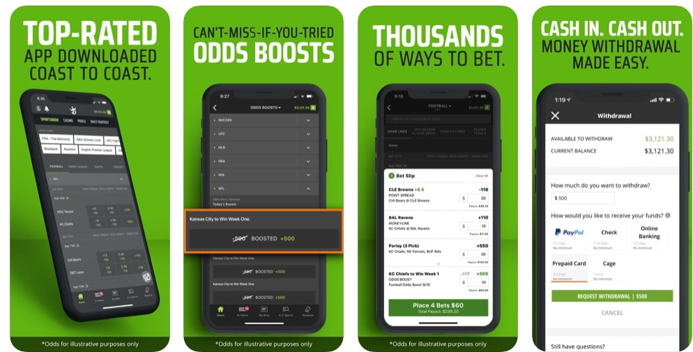 draftkings sportsbook apple mobile