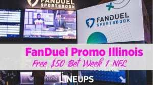 FanDuel Illinois Week 1 Promotion Spread the Love – Free NFL Week 1 Pick