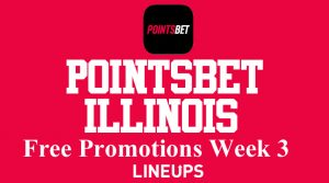 PointsBet Illinois Bringing the Heat and Promotions for NFL Week 3