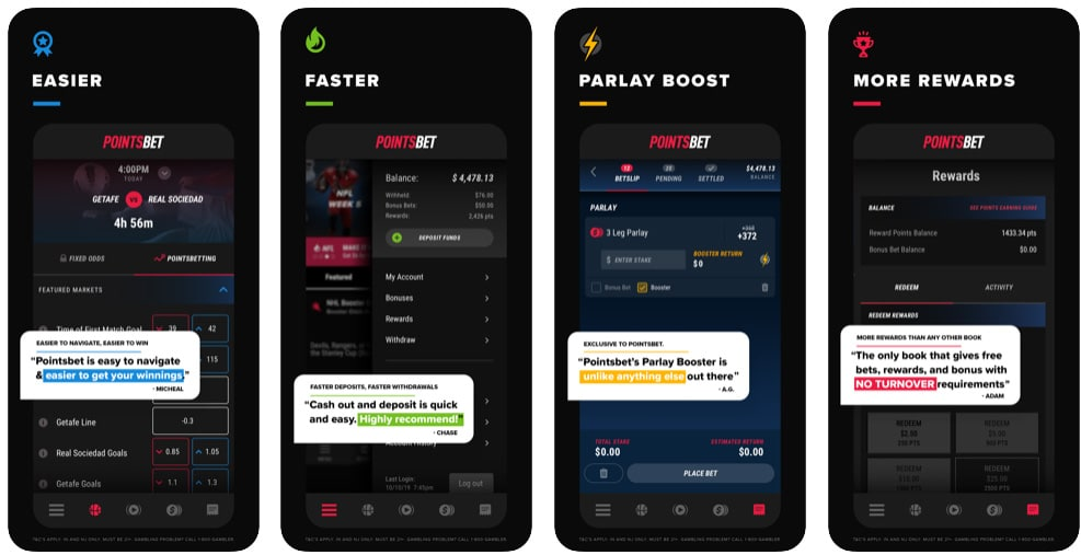 pointsbet mobile app il