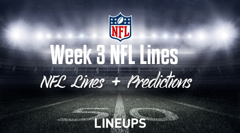 vegas betting odds nfl week 3