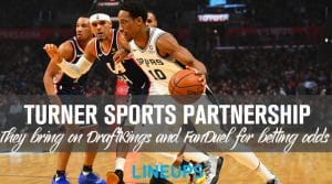 Turner Sports Partners with DraftKings and FanDuel