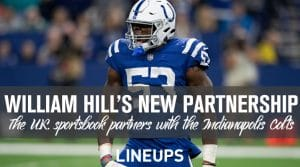 William Hill Partners with the Indianapolis Colts