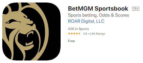 betmgm apple ratings